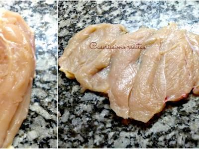 Como abrir (filetear) una pechuga de pollo