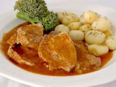 Carne en salsa de soja y miel