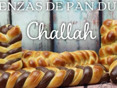 Receta de Challah Trenza de pan dulce brioche