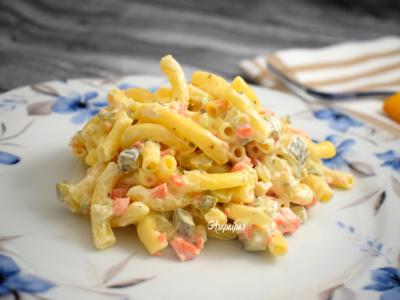 Ensalada de macaroni
