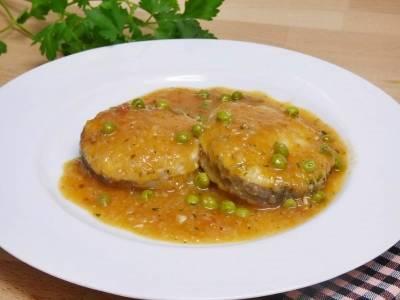 Merluza en salsa