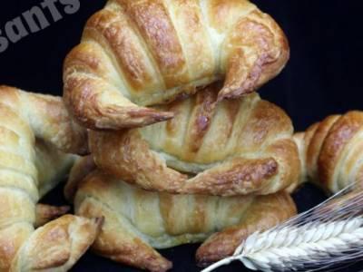Croissants de mantequilla