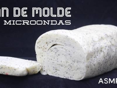 pan de molde al microondas