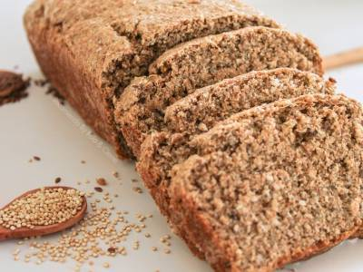 Pan integral con quinoa