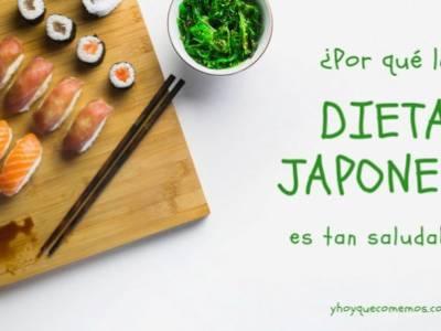¿por qué la dieta japonesa es tan saludable?